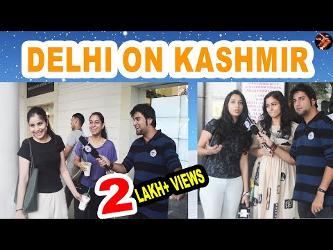 WHAT DELHI YOUTH SAY ABOUT // KASHMIR AND KASHMIRI PEOPLE /#MadnessWithManish