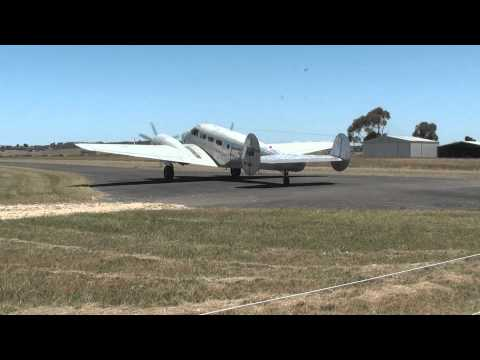 Beech D18 Flying Around Grovedale Touch n Goes