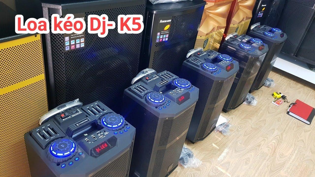 Loa kẹo kéo karaoke Dj-K5 . Còn hót dài dài