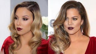 Khloe Kardashian Inspired Makeup Tutorial!