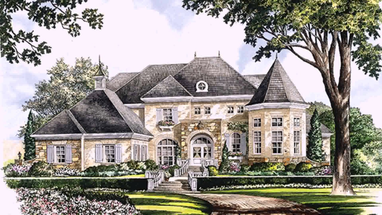 pretty french chateau house plans pictures best design - 820×615
