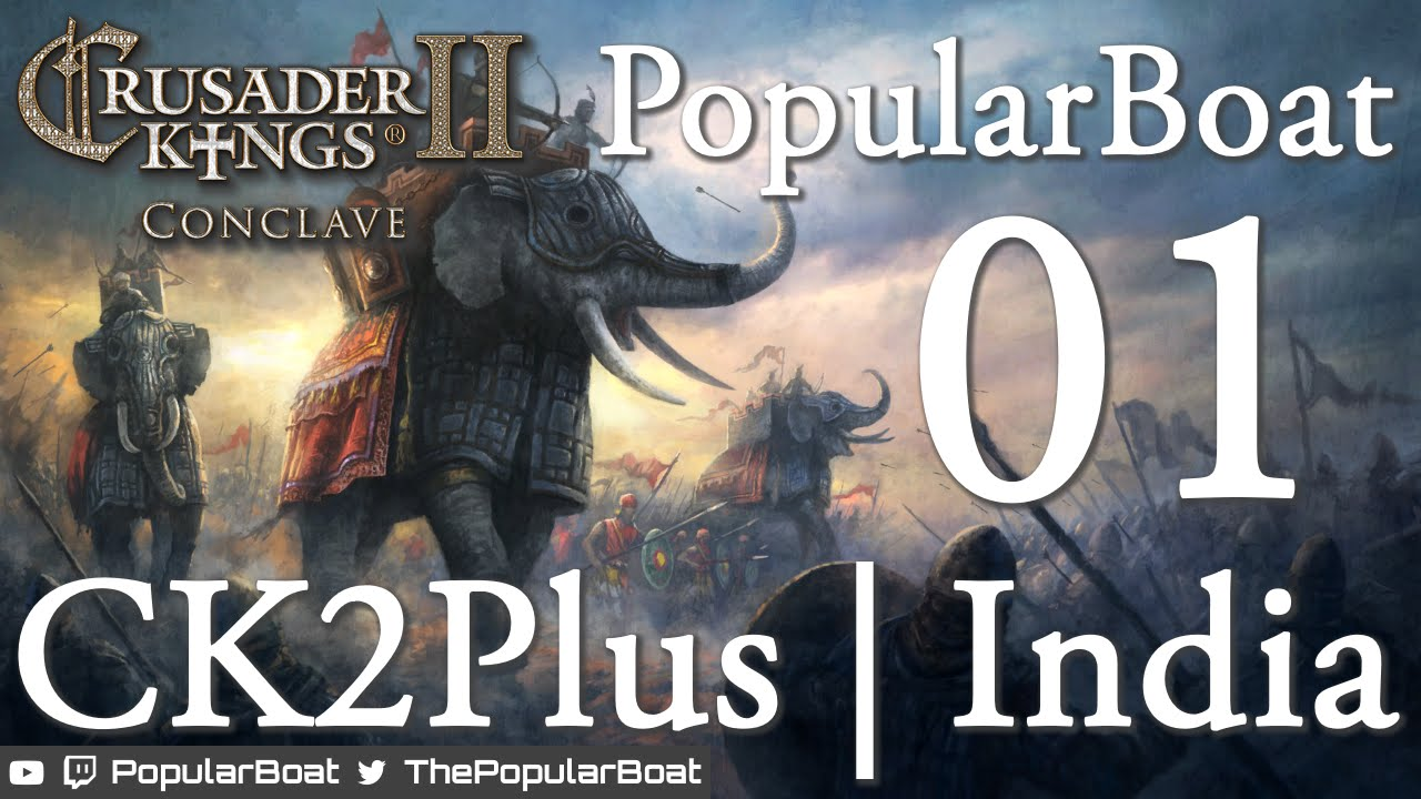Crusader Kings 2 [CK2Plus mod] Let's explore India - Part 01 - Humble  beginnings