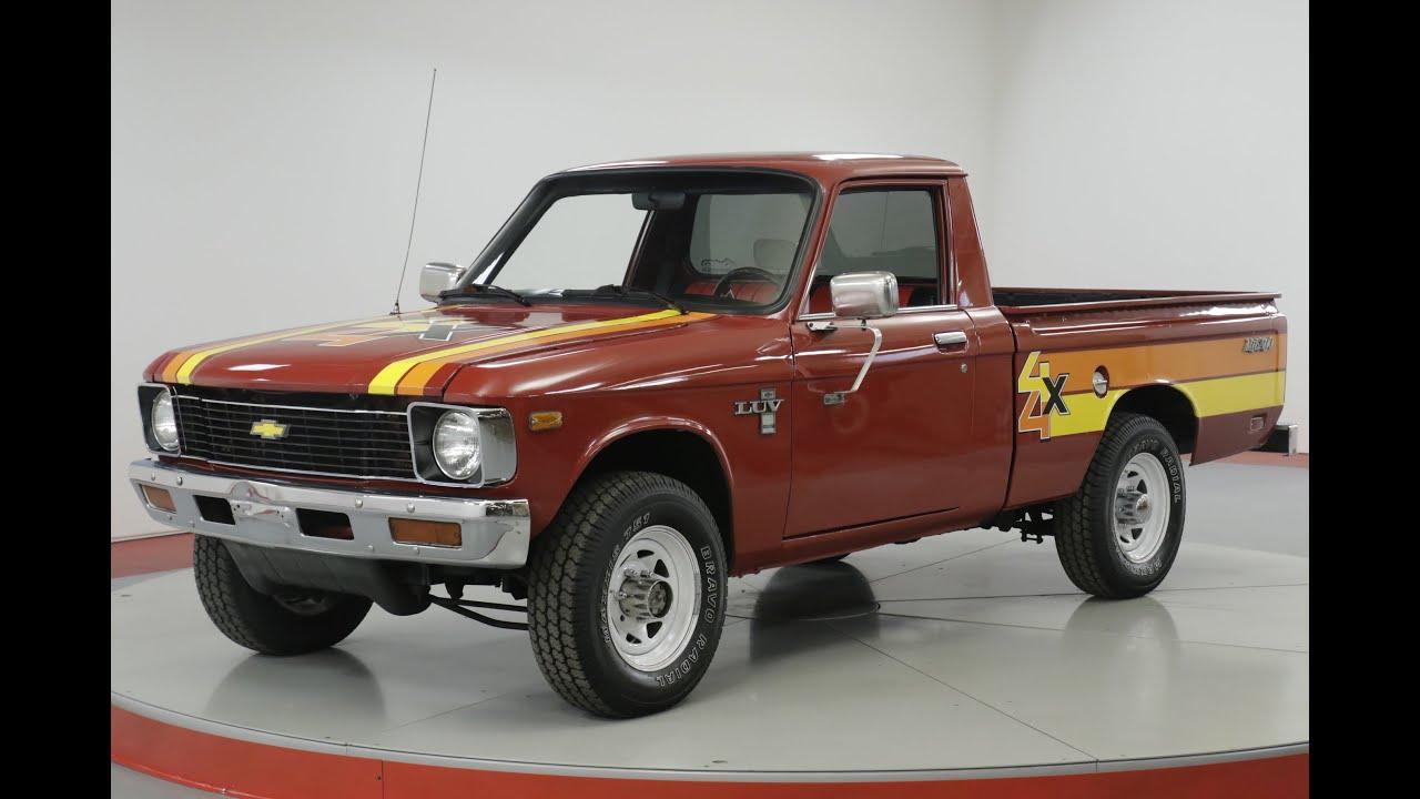 1979 Chevrolet LUV MIKADO  ULTRA RARE 4x4  COLLECTOR  MANUAL | Denver, CO |  Worldwide Vintage Autos | Denver CO 80216