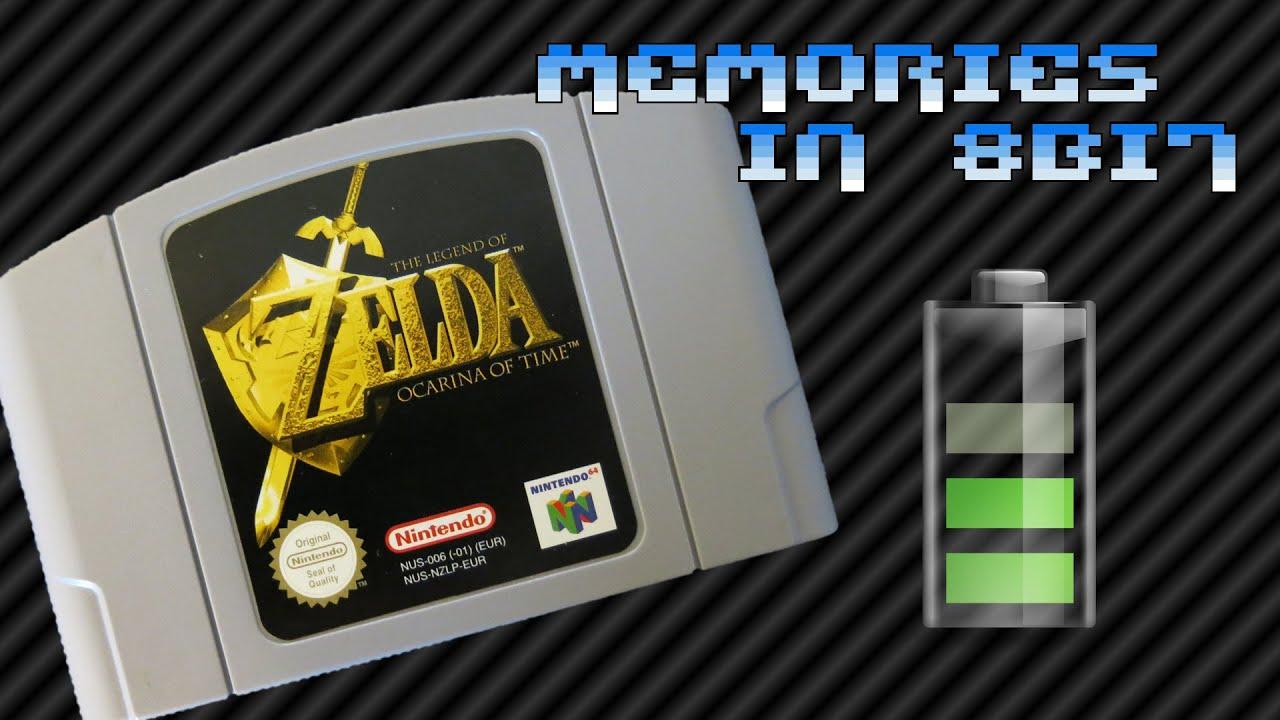 Nintendo 64 cartridge (+ Memory Pak) battery replacement | Memories in 8Bit