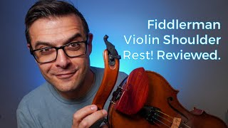 Fiddlerman Wood Violin Shoulder Rest from Fiddlershop! A Review.