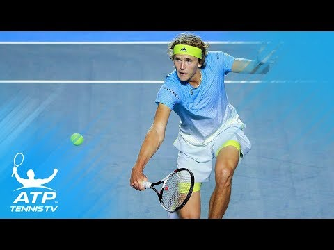 Zverev hits amazing winner after epic rally! | Acapulco 2018
