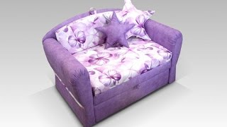 Детские диваны для девочек. Какой диван-кровать подойдет для девочек?(, 2014-08-21T23:19:23.000Z)