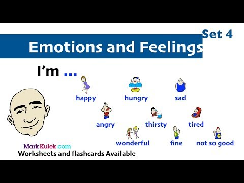 I'm ... -  Emotions and Feelings to Practice   English Speaking Practice   ESL