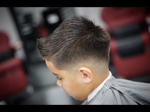 Bald Fade Haircut Kids 17