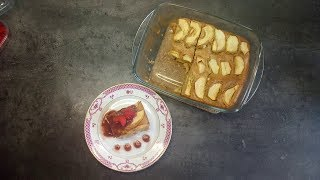 Нежнейшая диетическая бисквитная ШАРЛОТКА без сахара