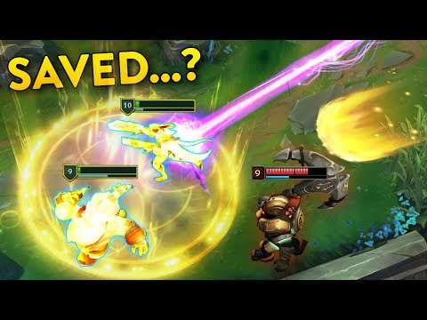 PERFECT SAVES (200IQ Bard Ult, Braum Blocks, Heroic Support Save...)