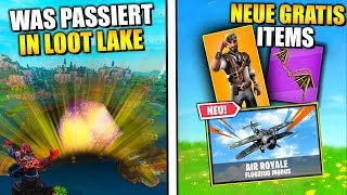 OSTER UPDATE 😱 New Skins, Dances, Leaks and Live Event | Fortnite Live English
