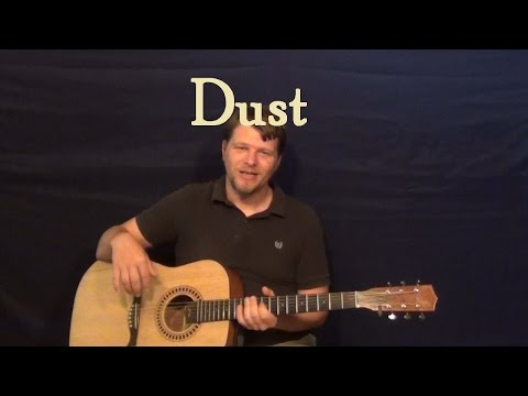 Dust (Eli Young Band) Easy Guitar Lesson How to Play Tutorial
