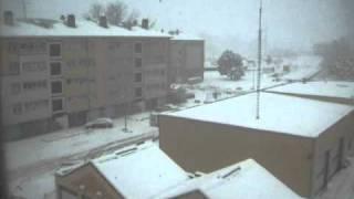 la neige a Belfort