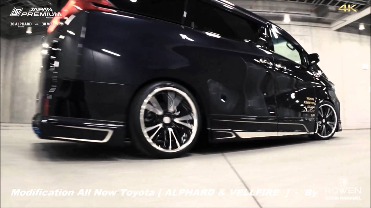 All New Alphard Toyota Yaris Trd 2013 Matic Modification Vellfire By Rowen Japan Youtube