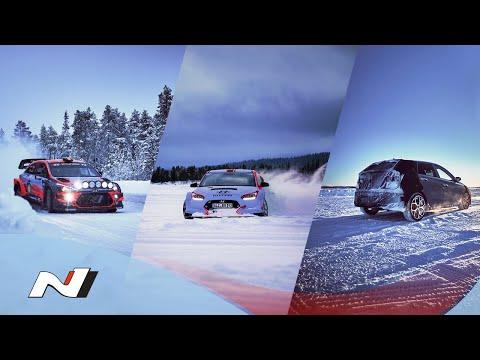 Hyundai N | The Evolution of N - Winter Test