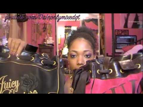 How to Spot a Fake Juicy Couture Bag - YouTube 8b513a9b89