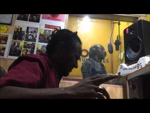 Mad Cobra Voicing  thinkn yuh chest line wid steel  dub  for wayne Lonesome