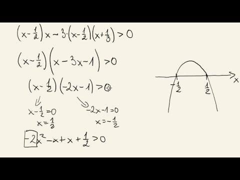 Zadanie – nierówność kwadratowa