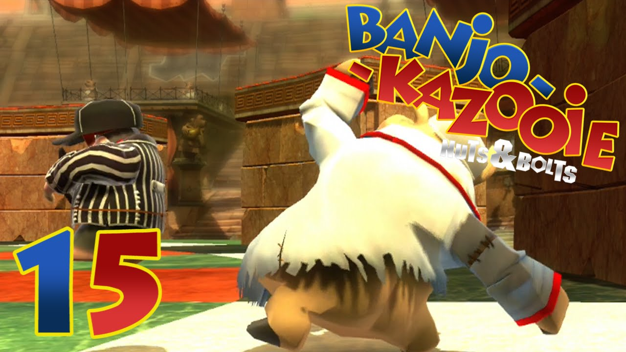 lets play banjo kazooie nuts and bolts multiplayer