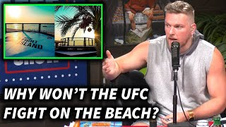 Pat McAfee Says The UFC Should Fight On The Beach At Fight Island