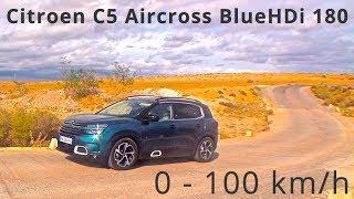 Citroen C5 Aircross BlueHDi  180, 0-100