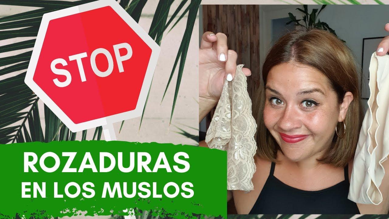 ROZADURAS EN LA ENTREPIERNA - Cómo PREVENIR EL ROCE DE LOS MUSLOS ¡Truco Definitivo! - Bandelettes