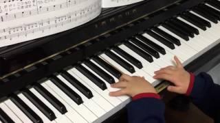 2016.2 年少 4才 ピアノ歴9ヶ月.