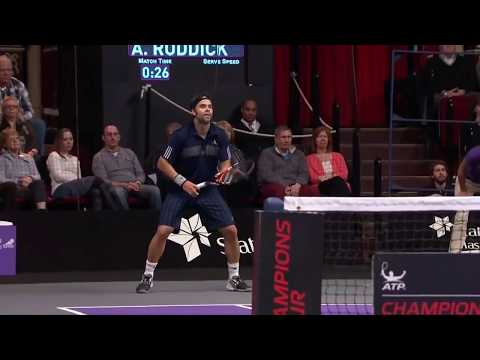 ATP TENNIS Best Power shot in history - Fernando Gonzalez
