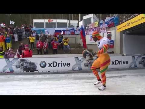 Akwasi Frimpong's road to the Winter Olympics