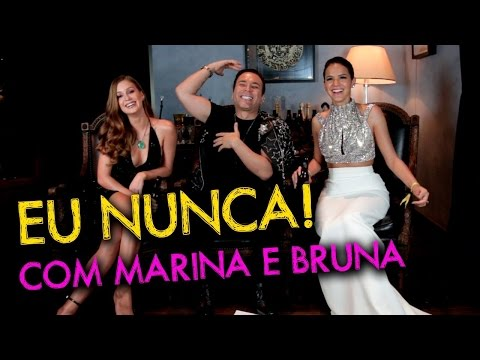 Eu Nunca com Marina Ruy Barbosa e Bruna Marquezine | #HotelMazzafera