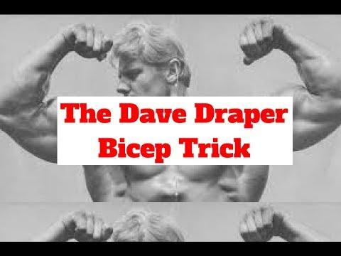 The Dave Draper Bicep Secret