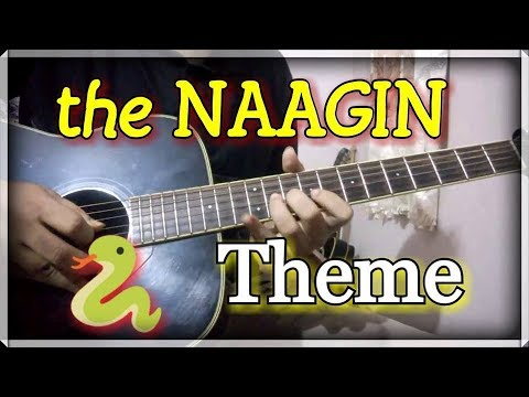 NAAGIN - Guitar Tabs Lesson (The Lady Cobra) | School/College Performance Guitar Lead