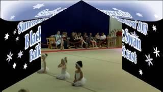 Burlo Gymnastics, Summer Show 2017, Black Swan, Ballet class