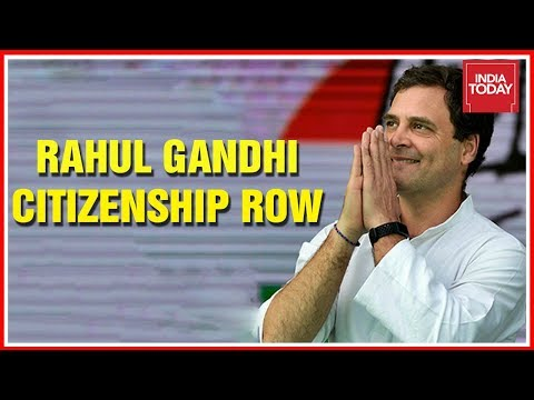 Is  Rahul Gandhi A UK Citizen? ; Congress Chief's Amethi Nomination Paper Under Scanner