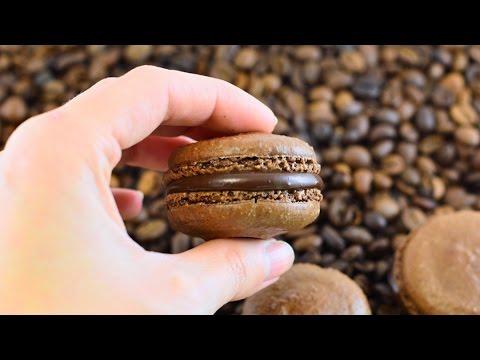 Шоколадно-кофейные макаронс ☆ Chocolate And Coffee Macarons