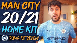 MAN CITY 2020/21 PUMA HOME SHIRT