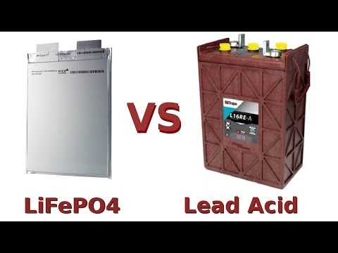 LiFePO4 vs Lead Acid Battery