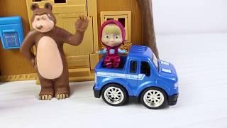 Masha Ve Koca Ayı Yeni Oyuncak Arabasıyla Gezmeye Gidiyor Maşa İle Koca Ayı