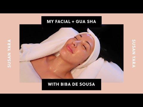 Signature Facial And Gua Sha With Celebrity Esthetician Biba De Sousa   Susan Yara