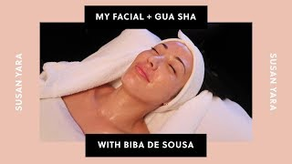 Signature Facial and Gua Sha with Celebrity Esthetician Biba de Sousa | Susan Yara