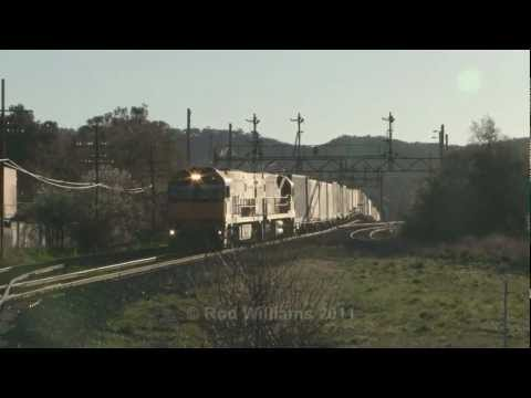 Interstate Freight at Ararat : Australian Trains