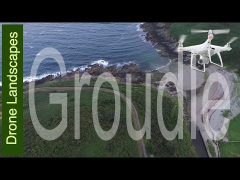Isle of Man by Drone - Groudle