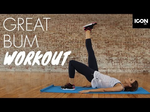 Quick Workout For A Great Toned Bum  Danielle Peazer
