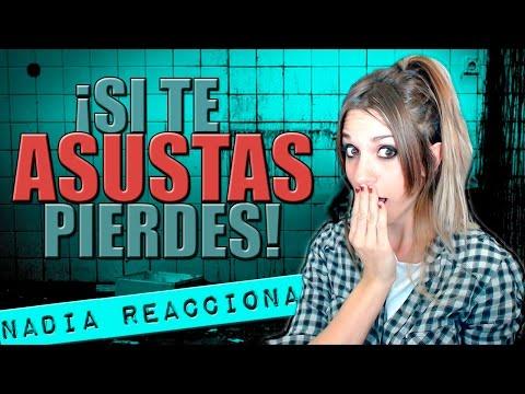 Nadia Reacciona: ¡SI TE ASUSTAS PIERDES! (Nivel Extremo) │ Nadia Calá