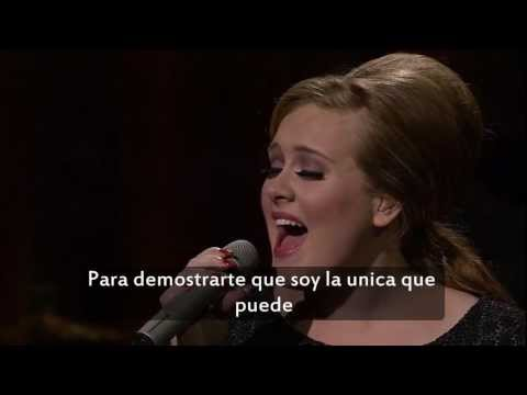 Adele One and Only Live Subtitulada