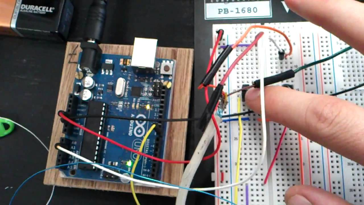 Arduino project motion sensor camera youtube