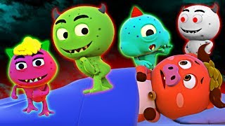 Five Funny Monsters   Original Song   Funny Songs For Kids   Nursery Rhymes by All Babies Channel