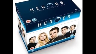 Baixar Heroes The Complete Blu Ray Collection Unboxing