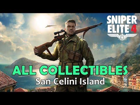 Sniper Elite 4 - All Collectibles - Mission 1 | San Celini Island [1080p60] |